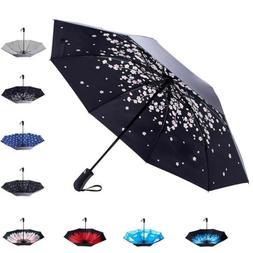 Fidus Folding Sun shade Umbrella UV Protection Press Button