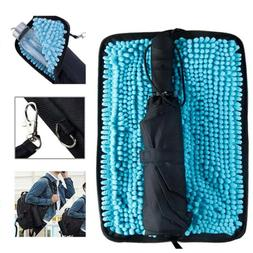Folding Umbrella Storage Bag Compact Waterproof Travel Umbre