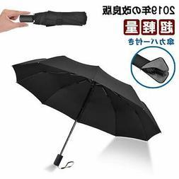 Folding Umbrella Lightweight Strong 10 frame  Manual opening
