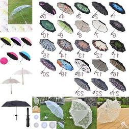 Folding Umbrella Waterproof Anti Wind UV C-shaped Handle Umb
