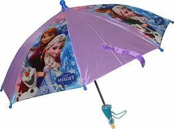Disney Frozen Anna, Elsa & Olaf Girl's Umbrella