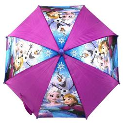 Disney Frozen Queen Elsa Anna & Olaf umbrella Molded Umbrell