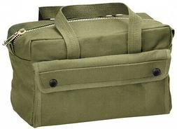 Rothco G.I. Type Mechanics Tool Bag With Brass Zipper, Olive