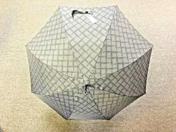 Gian Franco FERRE Milano Logo Pattern Gray Umbrella - BRAND