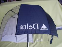 """Storm Duds Golf Bag Umbrella Club Canopy """"DELTA"""" Advertising"""