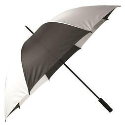 Golf Personal / Handheld Umbrella In Black And White Rain Pr