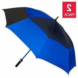 Shedrain Golf Umbrella 2-pack, Automatic Open, Water Repelle