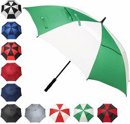 BAGAIL Golf Umbrella 62 Inch Large Oversize Double Canopy Ve