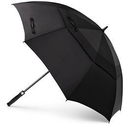 SHINE HAI Golf Umbrella 62 Inch Oversize, Automatic Open Dou