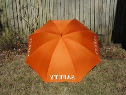 Golf Umbrella Safety Orange Red White Yellow 68 inch Wedding