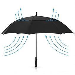 PENGDA Golf Umbrella Windproof Large 62 Inch, Double Canopy
