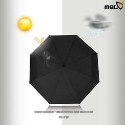 Golf Umbrella Windproof Large Double Canopy Vented Automatic