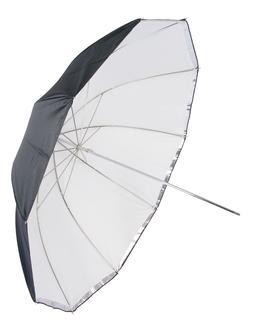 "GTX Studio 45"" Umbrella 10 Panels, Front Diffuser, Silver/Wh"