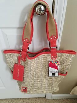 Tyler Rodan Handbag Bucket Tote Shoulder NEW w/Tags MAUI Tot