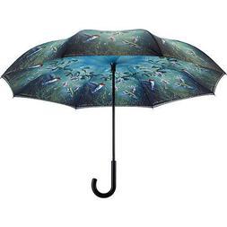 Galleria Hautman Humming Birds Reverse Close Umbrella Umbrel