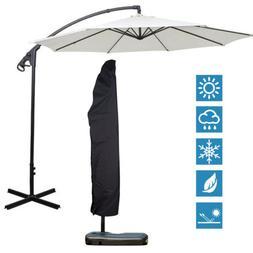 Heavy Duty Outdoor Patio Umbrella Protective Cover Bag Water