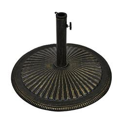 Best Choice Products 50lb Heavy Duty Cast Iron Patio Umbrell