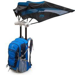 EZ FunShell Hiking Backpack Umbrella, Camping Touring Daypac