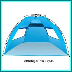 Amagoing Instant Pop Up Beach Cabana Tent Sun Shelter Family