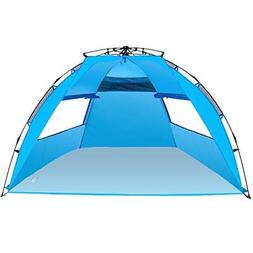 Amagoing Instant Pop Up Beach Tent Sun Shelter Family Umbrel