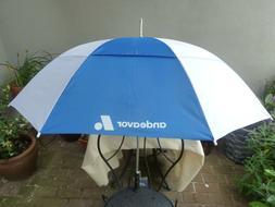 StrombergBrand Inversa Inverted Canopy Windproof Umbrella 48