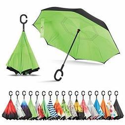 Sharpty Inverted Umbrella Wind Windproof Reverse Umbrella Bl
