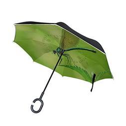 Inverted Umbrella Dragonfly Reverse Umbrella UV Protection W