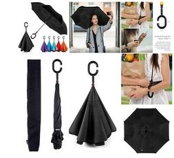 EEZ-Y Inverted Umbrella w/ Windproof Double Layer Constructi