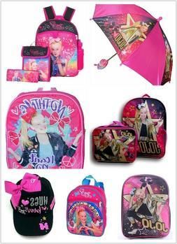 Nickelodeon Jojo Siwa School Backpack, Baseball Cap, Umbrell