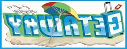 Jolee's GETAWAY Stickers Summer Beach Sand Shell Ocean Umbre