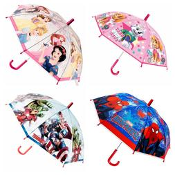 Kids Girls Boys Umbrella Disney Paw Paw Patrol Spiderman New