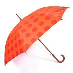 Marimekko Kivet Red Auto Open Stick Umbrella NEW