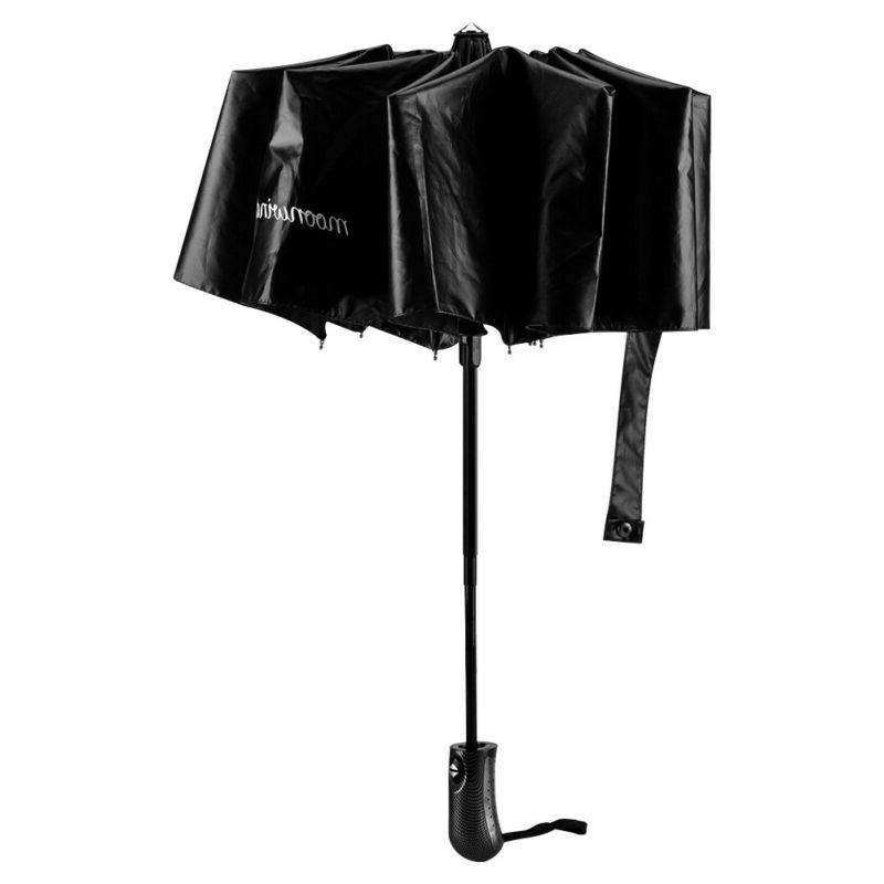 Automatic Black Sun/Rain Windproof Compact