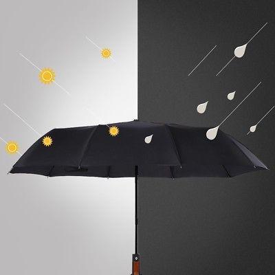 10 Ribs Compact Umbrella Auto Close