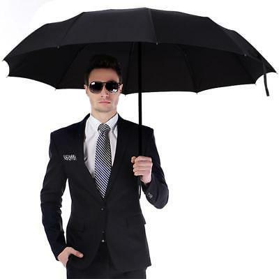 10 Ribs Compact Umbrella Auto Close Waterproof