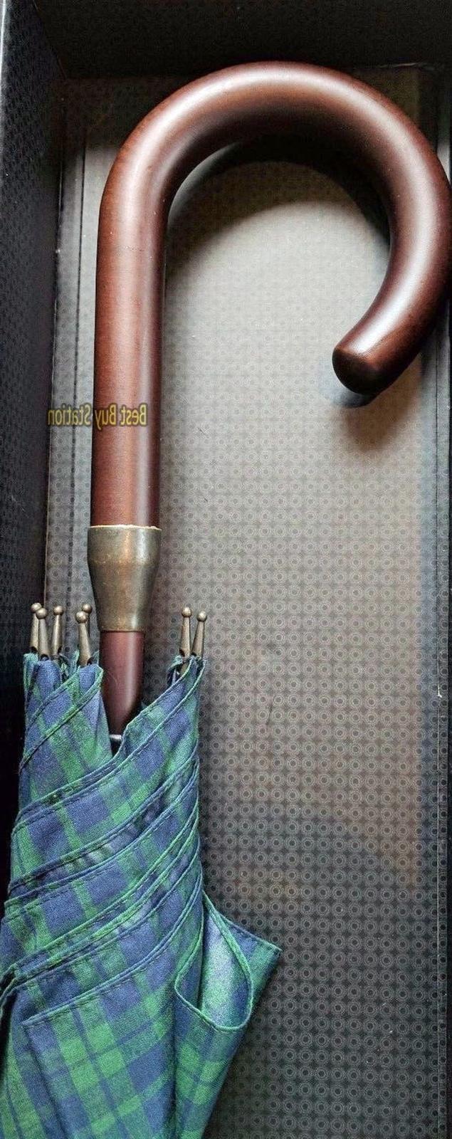 Classic Wood Umbrella 100% Italian - Auto