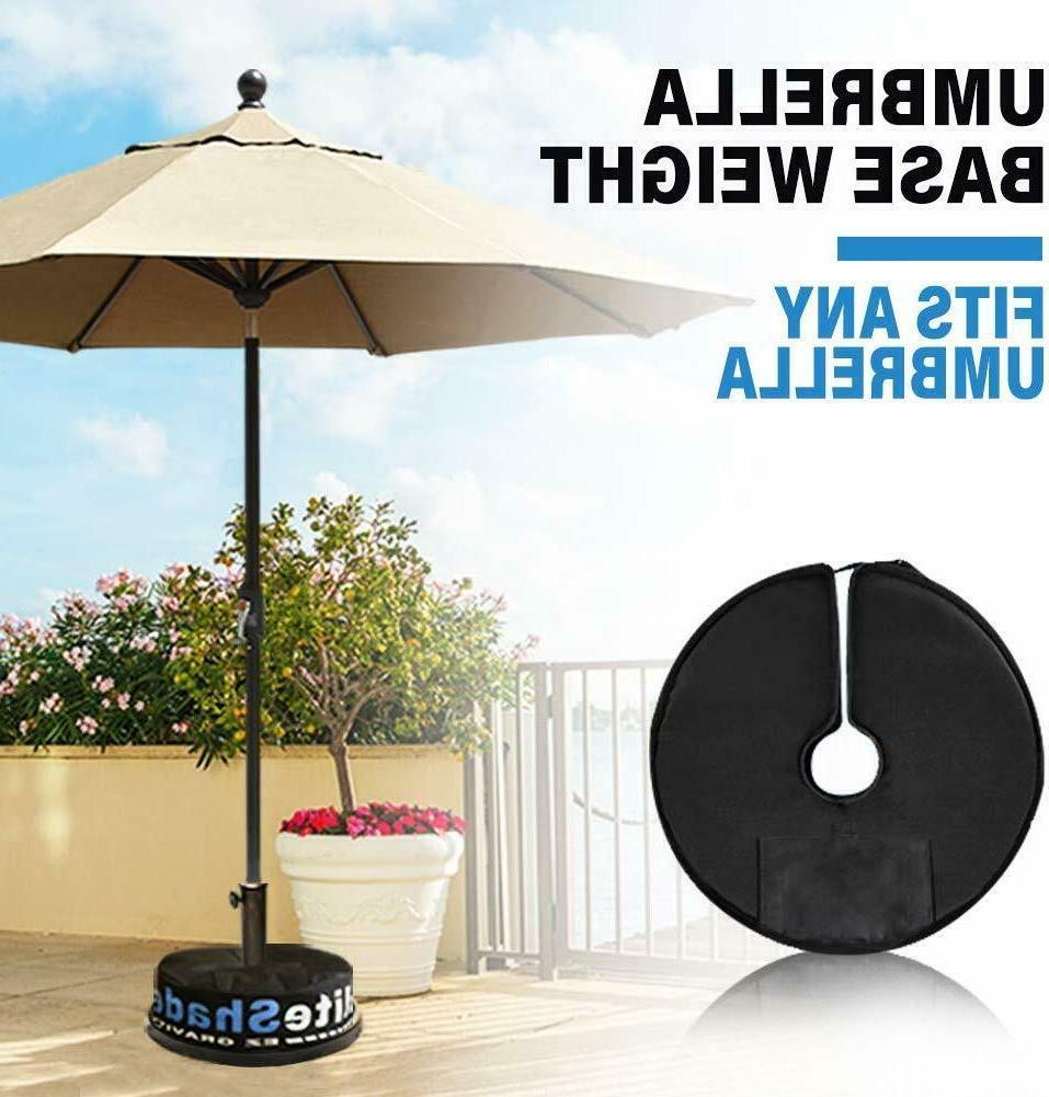 "18"" Outdoor Sand Weight Bag Umbrella to lbs"