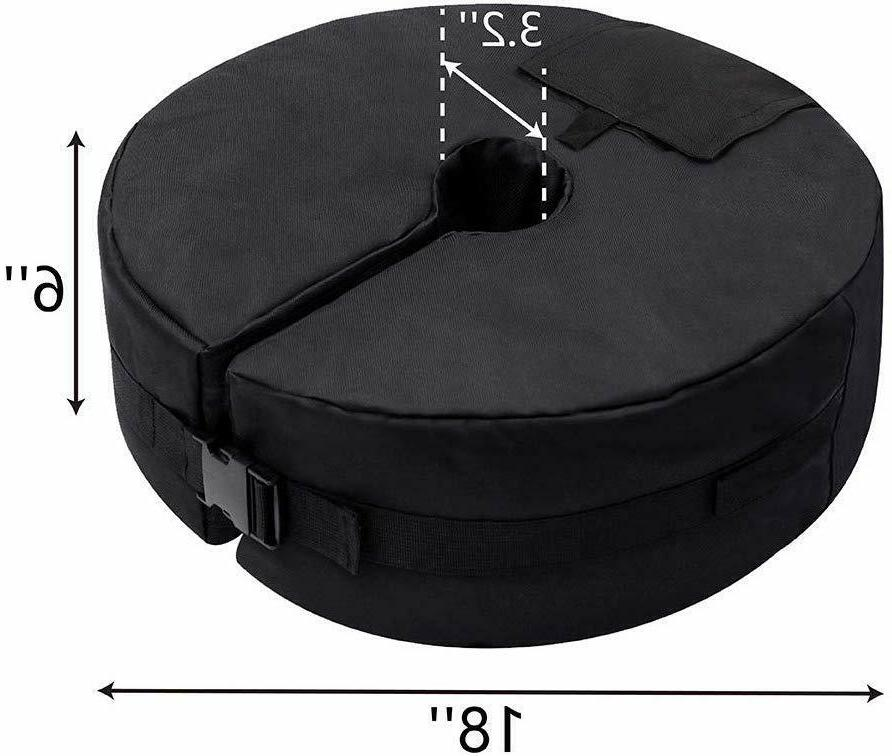 """18"""" Round Outdoor Weight Bag Patio to lbs"""