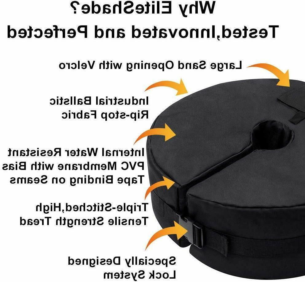"""18"""" Round Outdoor Sand Weight Bag Market Umbrella Base"""