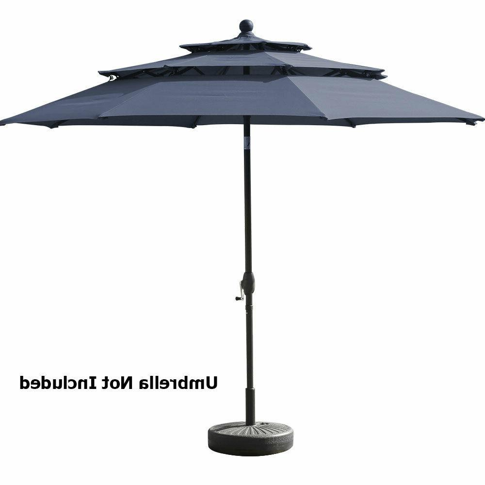 "19.5"" Umbrella Stand Round Outdoor Market"