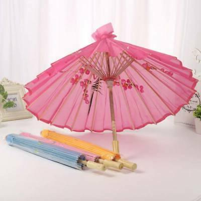 "22"" Chinese Oriental Japanese Dancing Nylon Umbrella Parasol"