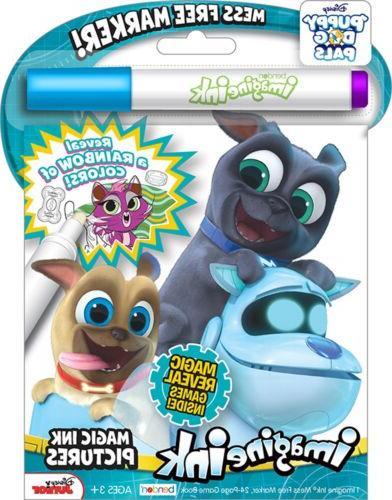 NEW 24pg Disney Puppy Dog Pals Imagine Ink Magic Pictures Ac