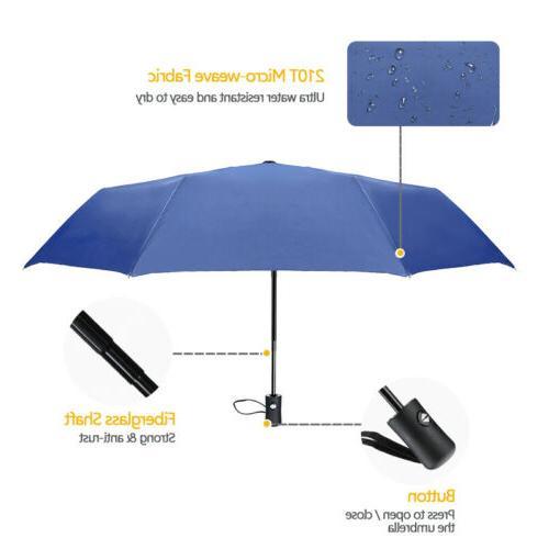 2X Windproof Anti-UV Rain Folding