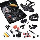 30Pcs Action Camera Head Mount Floating Accessories Kit For