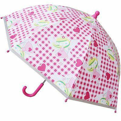 """32"""" Children Fairy Plastic Umbrella - RainStoppers Rain/Su"""