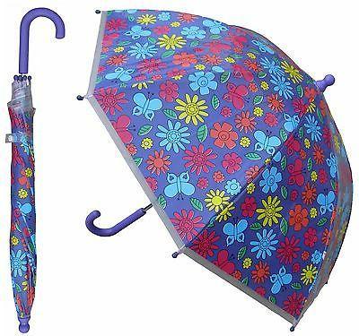 """32"""" Children Floral Umbrella UV"""