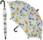 "32"" Children Kid Dinosaur Dino Print Umbrella - RainStoppe"