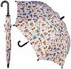 "32"" Children Kid Trucks Print Umbrella - RainStoppers Rain"