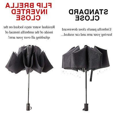 3pk Flip Compact Travel Umbrella