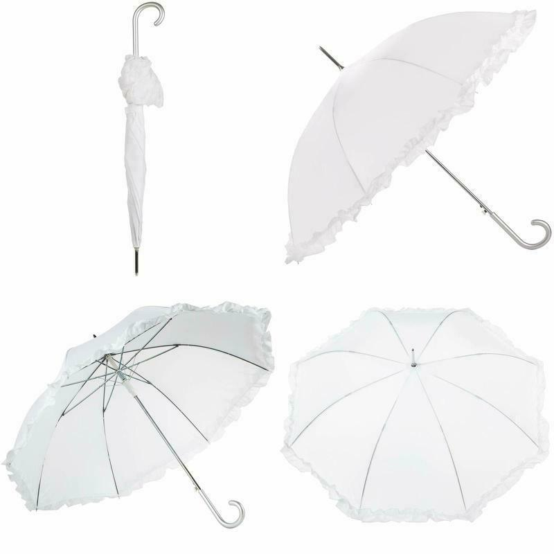 45 inch canopy women umbrella auto open